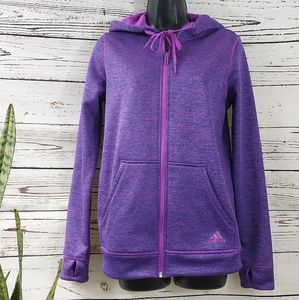 Adidas Climawarm hooded Jacket with thumb holes